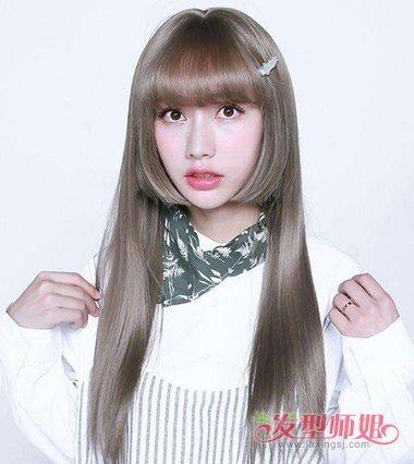 韩式姬发式发型图片 李成敏姬发式卷发图片
