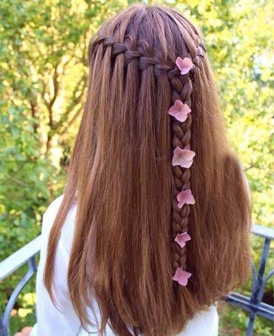 发型diy 长发扎发 >> 你的半扎发够时尚吗?图片