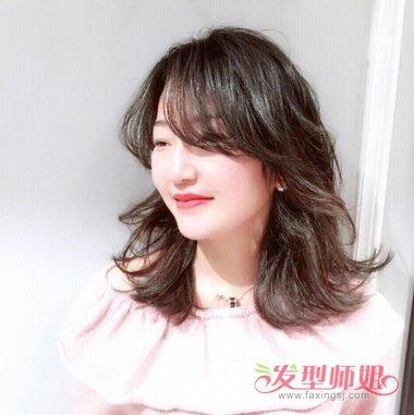 发量多女生适合的锁骨发发型 头发多适合锁骨发吗