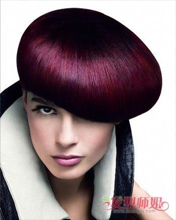 沙宣水母头短发发型图片