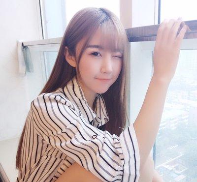 大脸变小脸何须整容 2018大脸女生韩式空气刘海发型轻松瘦脸图片