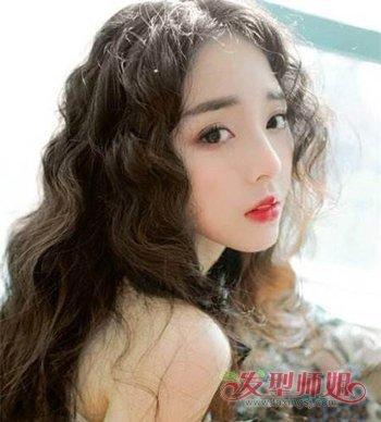 女生泰迪卷发型图片 水波纹和泰迪卷的区别(3)图片