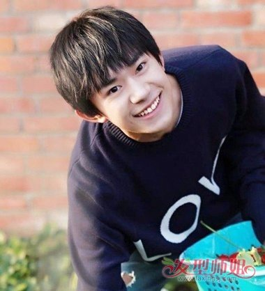 15岁男生适合什么发型 15岁男生剪碎刘海造型