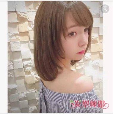 2018个矮女生剪齐肩发造型 发质软硬都适合的女发型(3