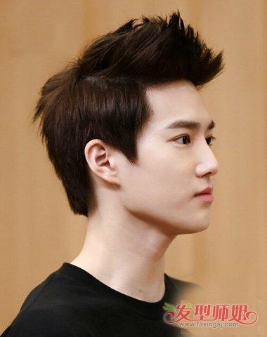 剃飞机头两侧发如何打理 潮男帅气头发颜色造型_发型