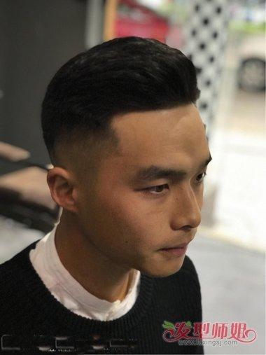 男生精剪沙龙短发造型 五月新款潮男发型设计图片