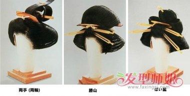 日本江户川时期女士发髻全集 日本古代女子发髻特色一览(7)