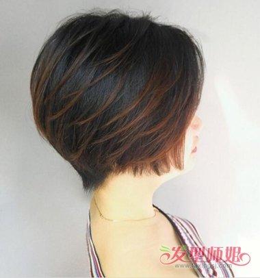 头发多最好用球体来做波波头 剪这款短发像是拥有了一