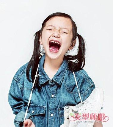 六一节扎发变公主行动起来 中国娃娃童星极扎发为黑发正名
