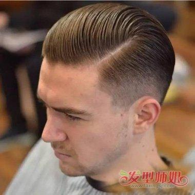 男生发型 >> 为什么小背头要梳三七分 2018国外男生剪短发要素  2018图片