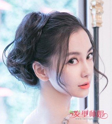 龙须刘海适合的扎发辫子 哪些发色适合皮肤白人图片