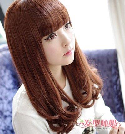 什么样的发质适合烫梨花头 鹅蛋脸女生卷何种头发潮流