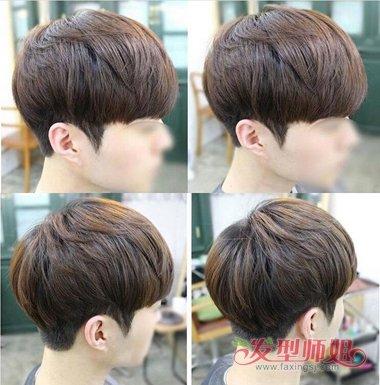男生发型参考刘海篇 发型的风尚刘海做主