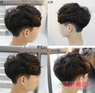 男生发型参考刘海篇 发型的风尚刘海做主图片