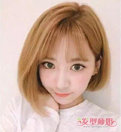 过渡段刘海尴尬期怎么梳头发 八字刘海适合的脸型设计