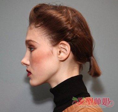 短脖子女生扎高辫子发型好看吗 染何种发色适用于短脖