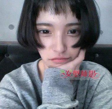 女神发型除长发外短发也能变美 清纯无暇短发应该这样图片