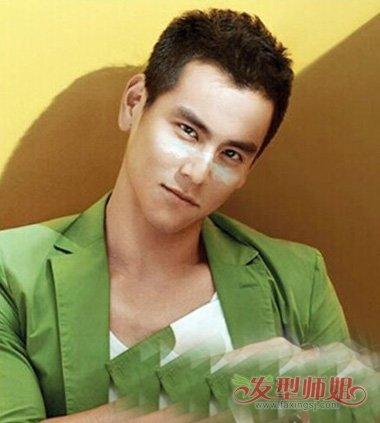 男生剪帅气时尚小平头造型 男士剃显年轻平头发型图片大全  中年男士图片