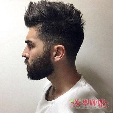 是直接剃掉,令男生的气质度有所增加,独特又不突兀款式的帅气发型展示