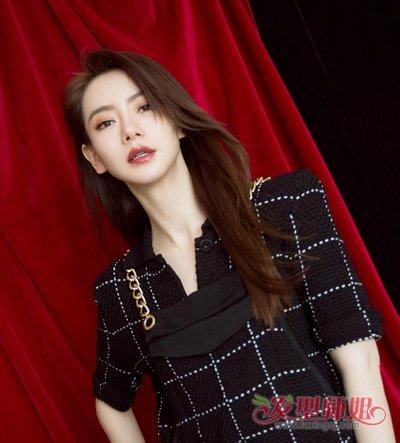 这么美的刘海快手上都火爆了 2018网红美女最新长刘海图片