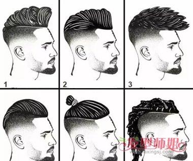 男生渐变式发型走的不仅是时尚风图片