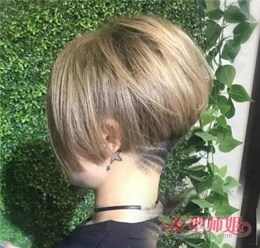 线条感刻痕头发变潮男图片大全  中性发型出道后备受女生们喜欢,直到图片