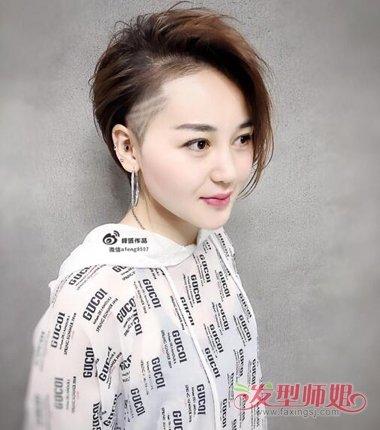 发型设计 短发 >> 帅帅的中性短烫发有法则可寻 酷帅女生做短发不能