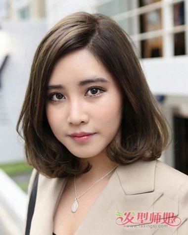 女生头发厚脸又大适合剪哪些发型 初秋爆款头发太多太厚发型特抢镜