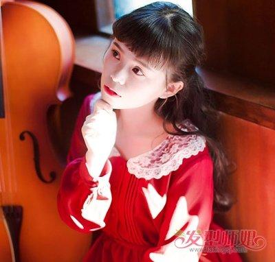 日系少女二次元刘海扎发俏皮又清新 今秋校园女生必备卡哇伊扎发