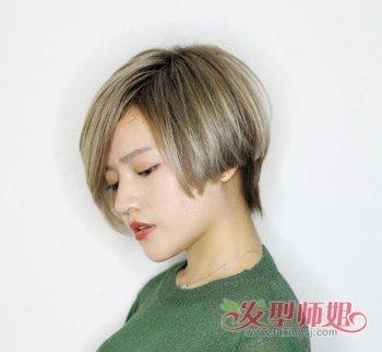 秋季女生头发不等式剪裁才个性! 2019女生最新不等式发型修剪技巧