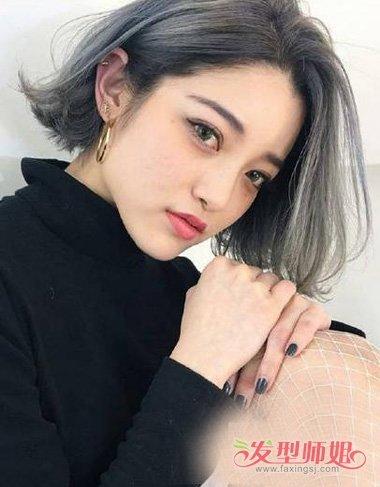 2019年女生灰发色成为主打色彩 前卫潮流更靓肤的同种色堪比