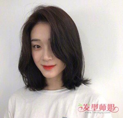 韩国小姐姐齐肩烫发不染色也2018世界杯体育投注平台 温婉气质轻松做时尚淑女
