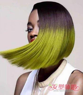 不等式发型不是短发女生专利 中长发女生也能拥有个性图片