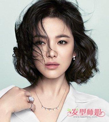 优雅大气的女生直发系列,温馨度百分百的 女生发型设计.图片