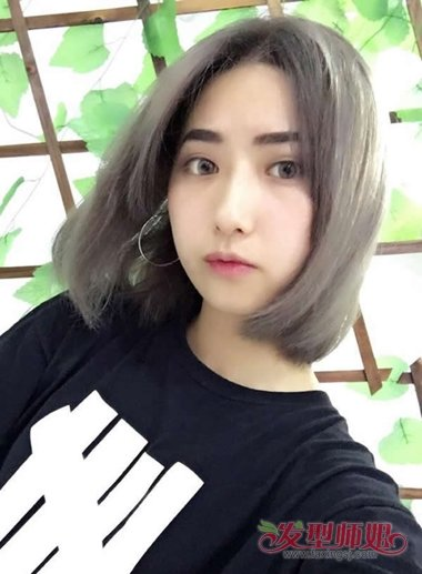短发气质剪初中a短发炫出清纯女生深刻感受好处短发的时代对养头发有学生吗?图片