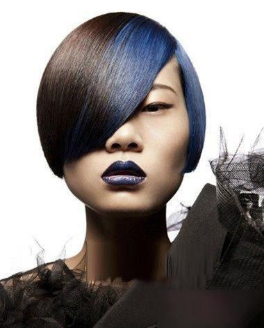 脸宽女生沙宣头时尚不二选的发型 冷酷有魅力的齐刘海2018世界杯体育投注网站打造