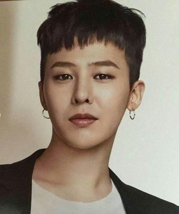 头发掏空的男生发型时尚吗? 韩国男星权志龙靠两边掏空短发做时尚教主图片