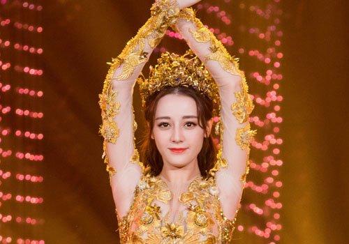 金鹰节迪丽热巴大丰收! 可是她的金鹰女神造型被狂潮 怎么回事?