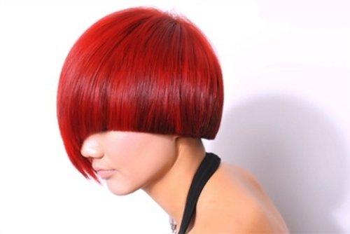 沙宣头女生头像_菱形脸女生修剪大气时尚沙宣头 美发基础知识必要学习