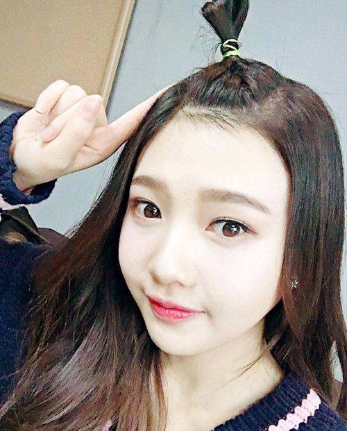 年轻女生扎头发就要趣味儿十足 女生俏皮可爱盘发仅限长头发