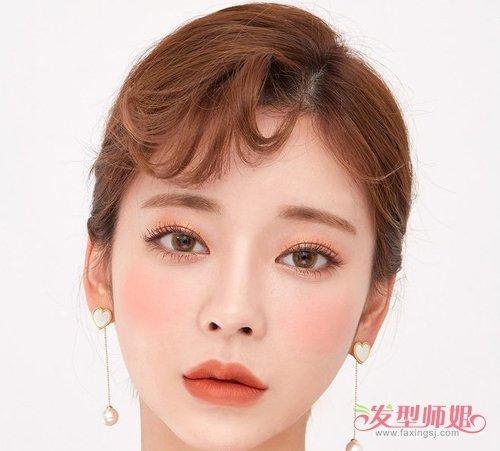 修颜教程:额头窄适合发型不重要刘海才是焦点 能修饰窄额头的发型美爆