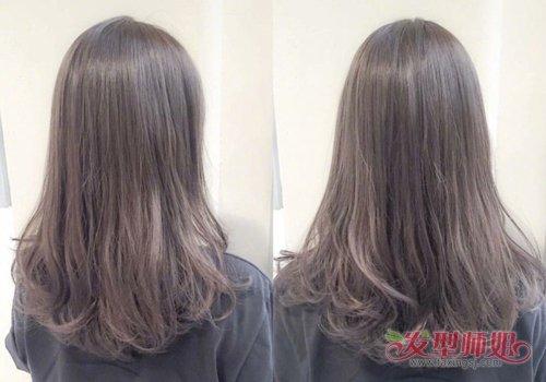 只是因为喜欢浓情长卷发就认真留一年 从发尾向上卷的长发有几种烫法