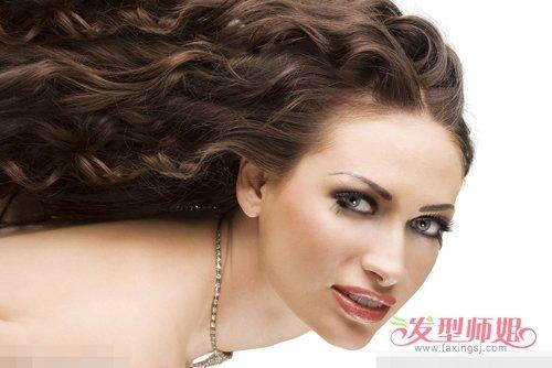 长脸女生制作韩版披肩发图片 拯救你变潮变美卷发系列精选