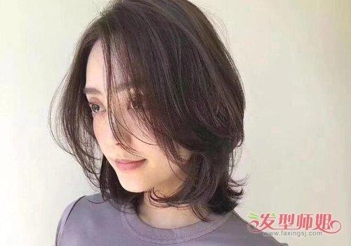发型设计 中年发型 >> 圆脸 短发变年轻so easy 40岁圆脸女士值得尝试图片
