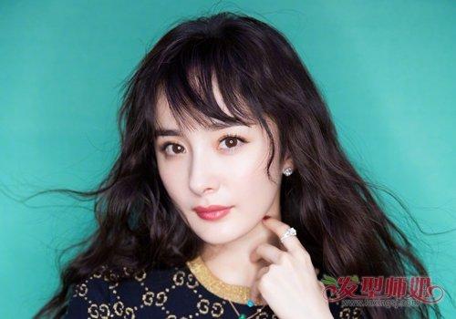 脸大女生梳刘海修颜风格完全可以百变 大脸女生最新款刘海发型安利