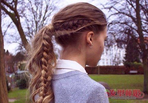 手巧女生扎头发要有挑战性 5款女生创意扎发有点难 我只会最后一款