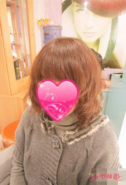 日韩风格卷烫发魅力不可阻挡 百变女王风格烫发+艳丽发色
