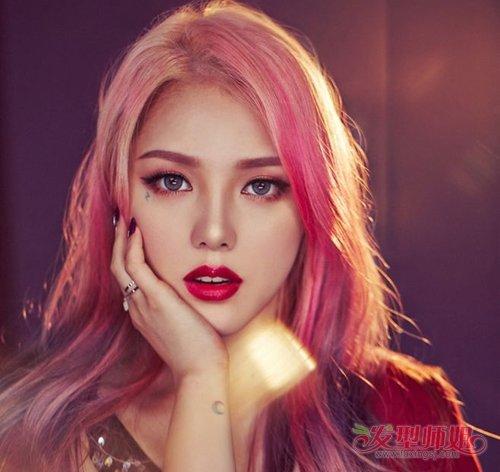 火遍世界的女生染发颜色top5 清新非主流风格的年轻女生发色