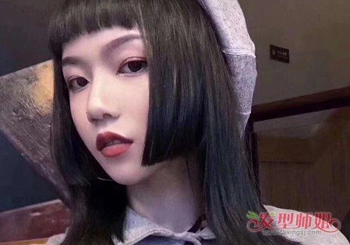 不要日系不要韩系中国女孩姬发式发型挺好的 剪姬发式发型也要求个修颜款