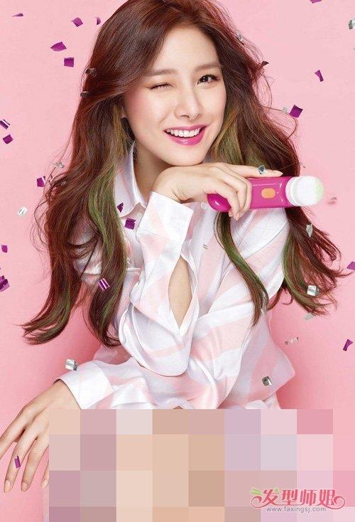 女生韩式中卷头发百变超迷人 玩转活泼可爱不呆板卷烫头发